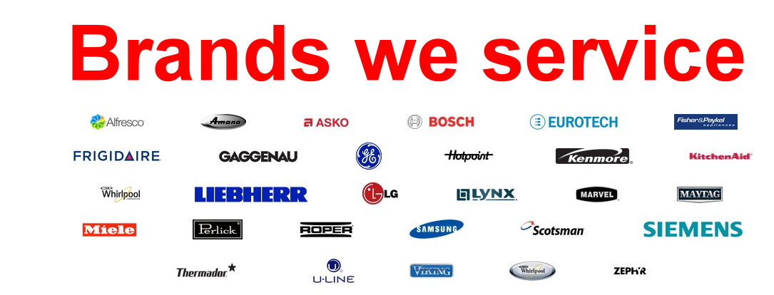 always speedy appliances - brands we service
